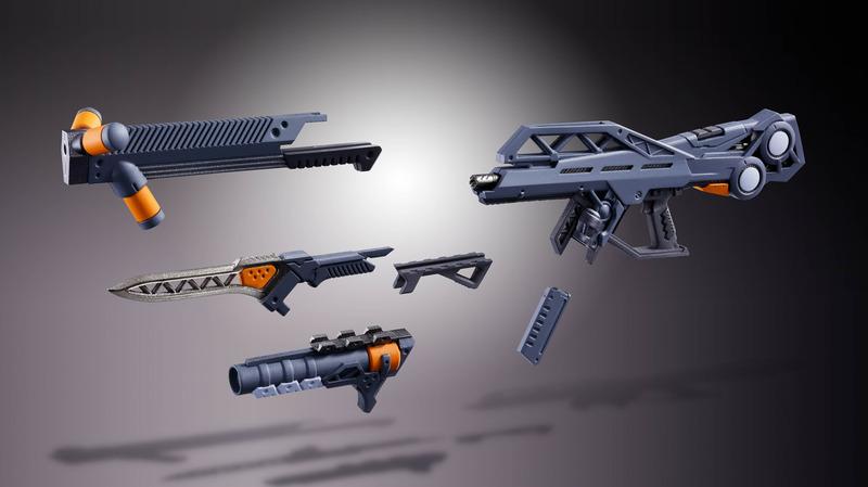 パレットライフルは様々な組み替えが可能となっている