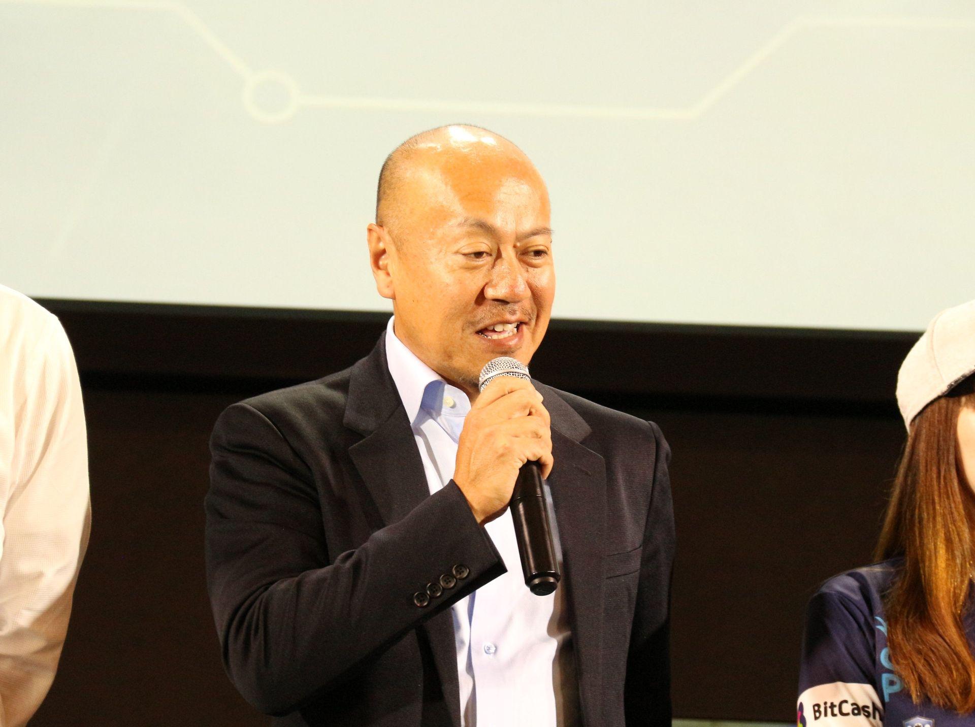 eスポーツをビジネスとして大きなビジョンを語る伊草氏