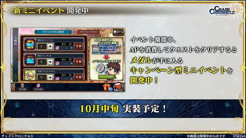 普段のプレイで参加できるミニイベントを通じて青のコインなど入手できるようになる