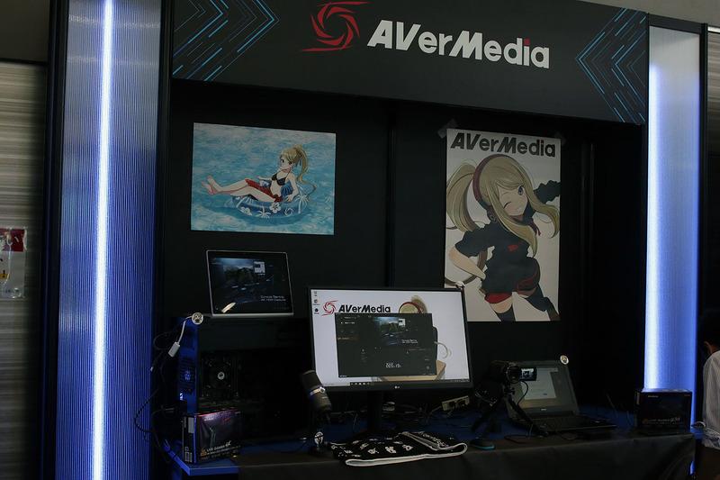 パートナーゾーンではNVIDIAやAVer Mediaのコーナーなどが設置されている