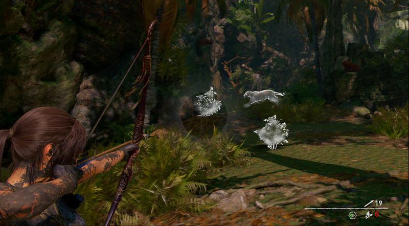 パーセッションハーブで集中力を高めるスキル「イーグルアイ」は、敵をハイライトで表示し、隠れていても見逃さない