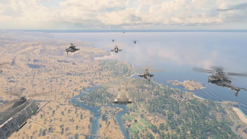マップ上を毎回ランダムな航路でヘリが飛ぶので好きなタイミングでダイブ。物資を拾えそうなところを狙うもよし、辺鄙なところを狙うも良しだ