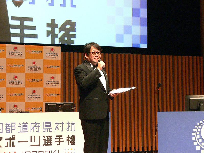 メインMCは、地元茨城放送の番組「土曜王国」でパーソナリティを務めるバロン山崎さんが、アシスタントMCは茨城県公認のVtuber、茨ひよりさんが担当した