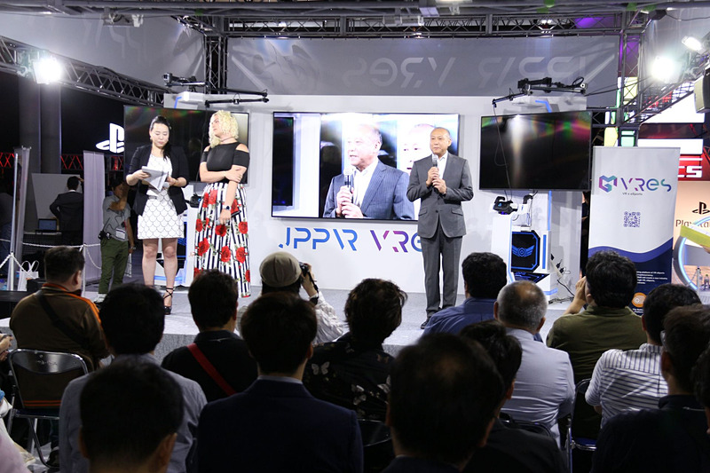 発表会はJPPVR内で行なわれた