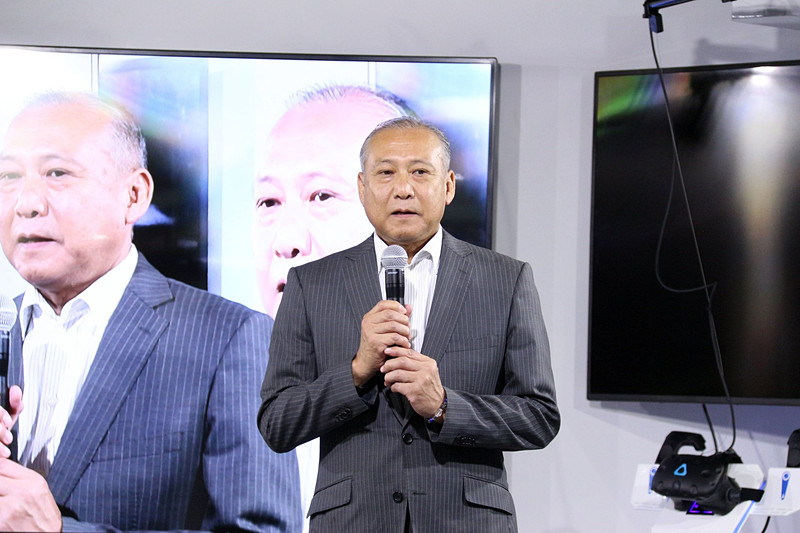 仕掛け人のJPPVR専務取締役 経営企画本部長の田畑俊哉氏