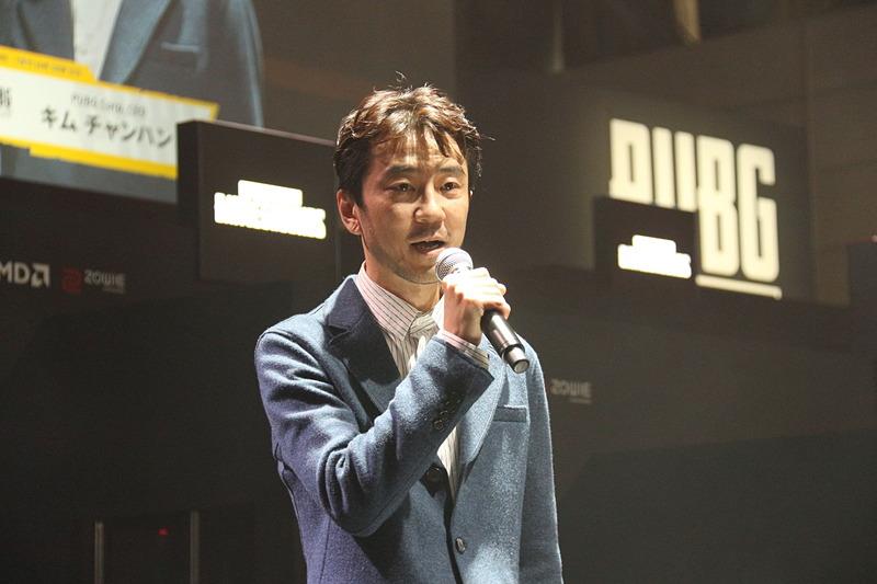 PUBG Corp CEO キム・チャンハン氏