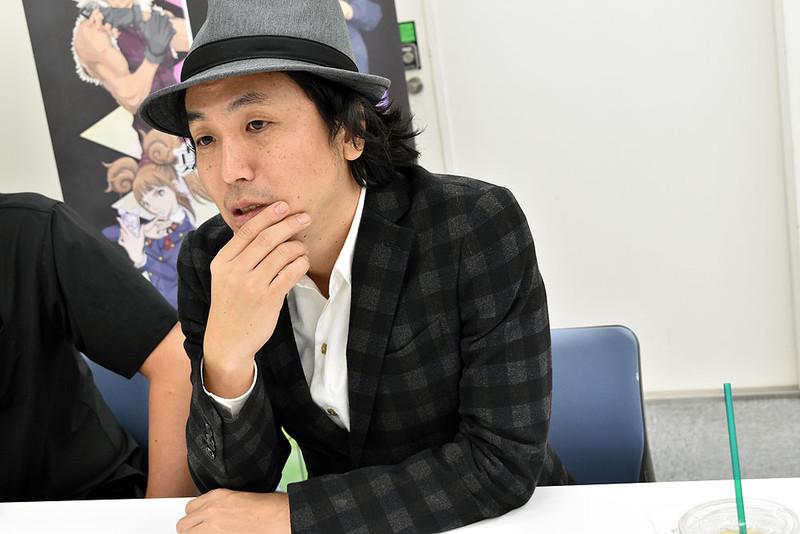 本作のチーフプロデューサー、山田理一郎氏