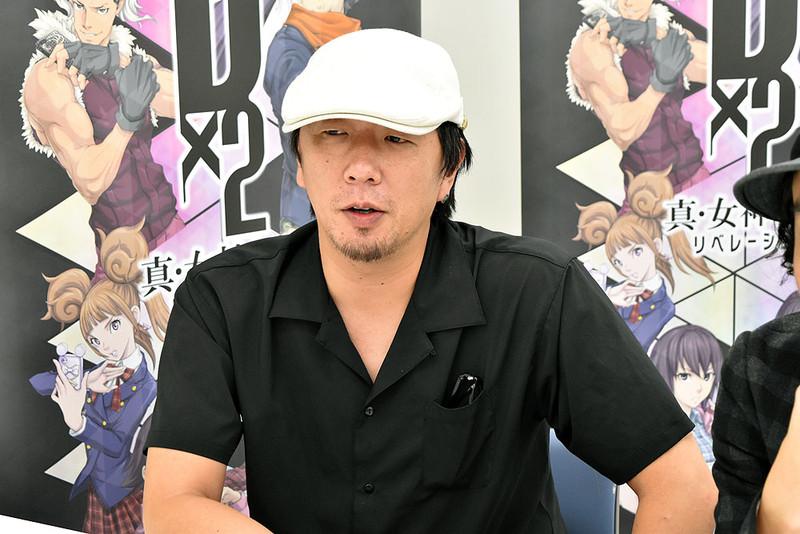 キャラクターデザインの岩元辰郎氏