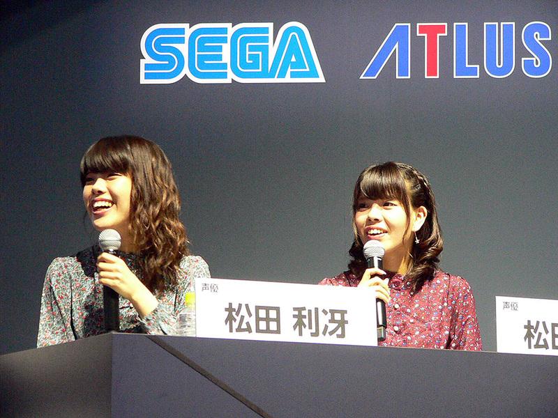 本作の公認応援団に選ばれた松田利冴さん、颯水さん姉妹