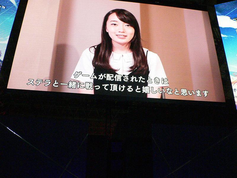 ビデオ出演でステラについての印象を語った藤田さん。ロウとカオス、鉄仮面装備の有無でガラリと設定が変わるようだ