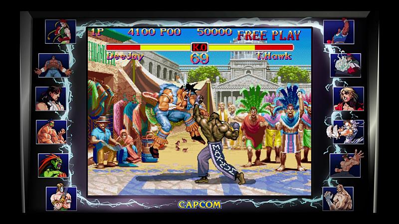 「スーパーストリートファイターII」では新キャラクターの登場で、戦いの幅がさらに広がった