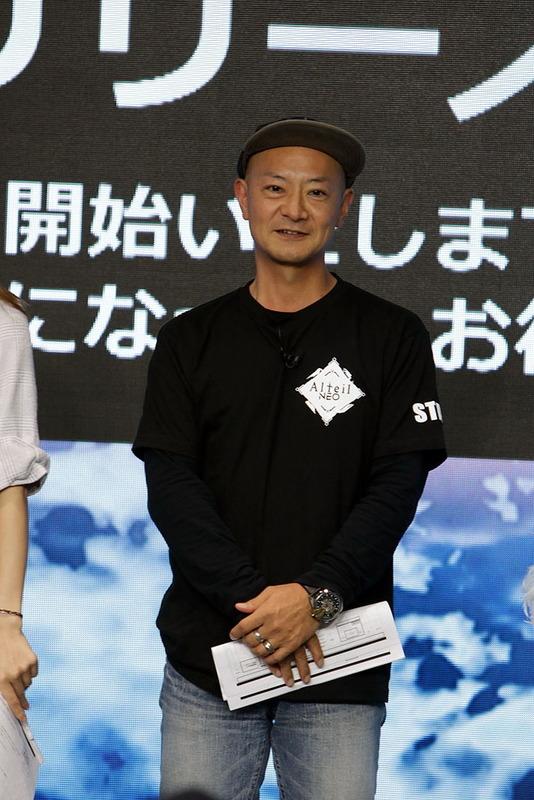 GMの立源寺氏ことコアエッジの代表取締役社長を務める宮本貴志氏