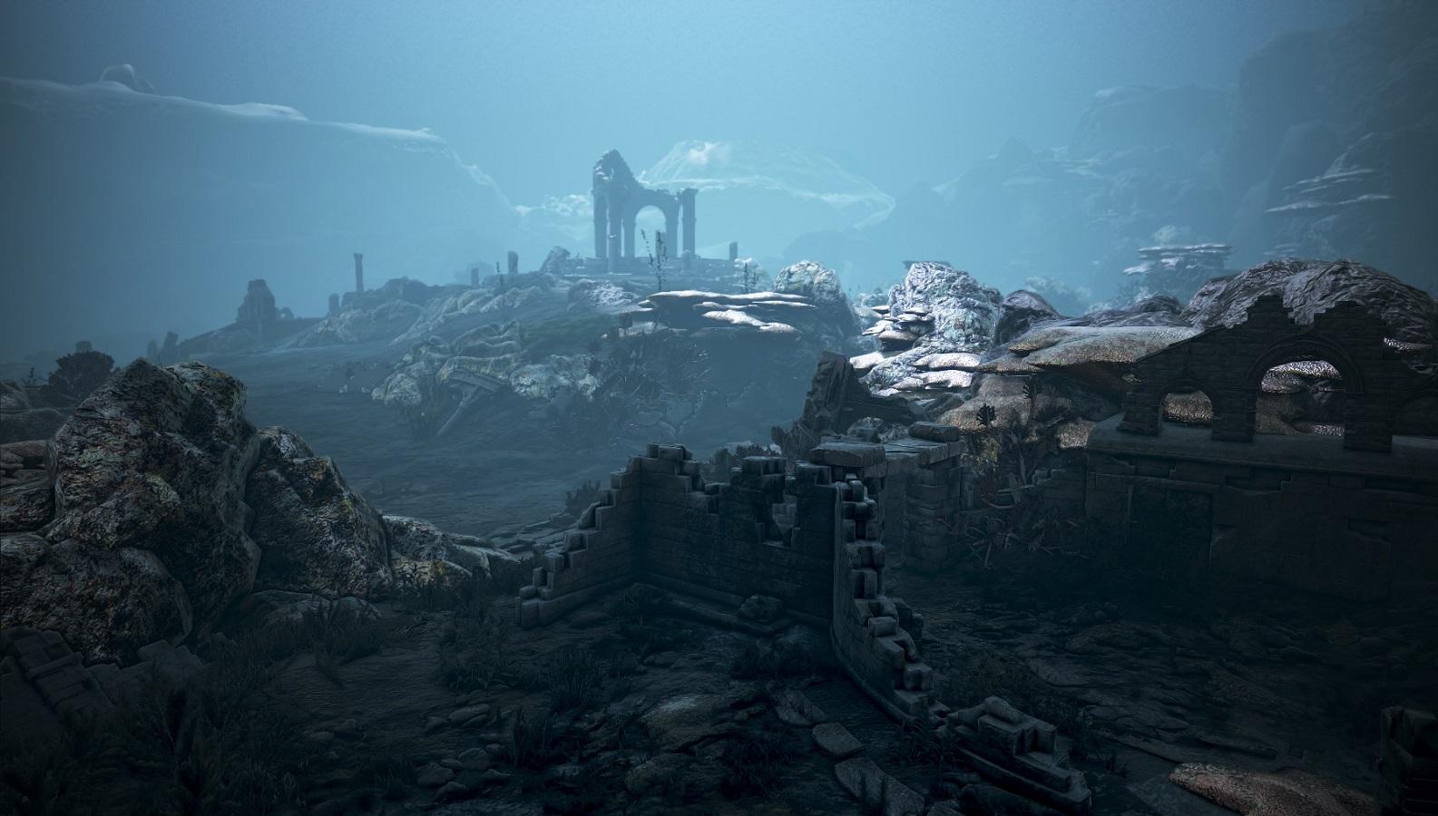 シクライア海底遺跡 上層