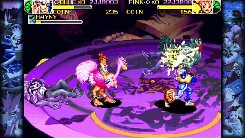現在ではなかなかプレイできない「キャプテンコマンドー」をはじめ、ゲームセンターでしか遊ぶことができなかった「パワード ギア」と「バトルサーキット」も奇跡の収録