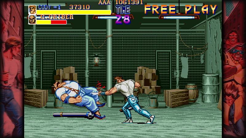 シンプルながらにのめり込んでしまうゲーム性。殴って、蹴って、ときには武器を使って敵をぶっ倒していく