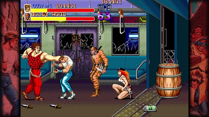 ザコ敵でもっとも体力が高いアンドレ。後に名前を変えて「ストリートファイター」シリーズに登場する