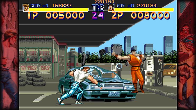 ハガー以外の主人公2人は、「ストリートファイターZERO」シリーズより参戦