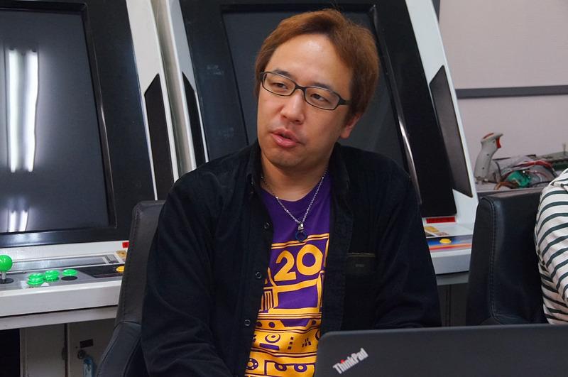 ディレクター久保田和樹氏。福井氏とともにM2STGシリーズの中核的な存在となっている