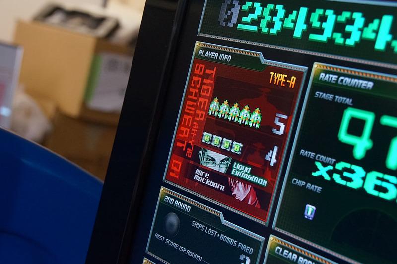 「ケツイ」はゲーム中に使っているフォントの種類が多いということで、それにあわせてM2ガジェットもたくさんの種類のフォントを使っている