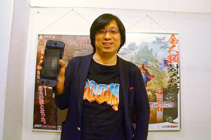 堀井氏が持つNintendo Switchに映っているのは……!