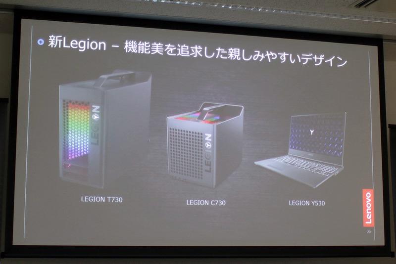 筐体デザインのアンケート結果から機能美を追求したモデルが求められていると判断