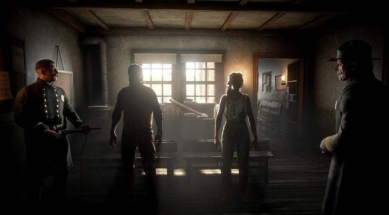 キャラクターは囚人として外見を設定する
