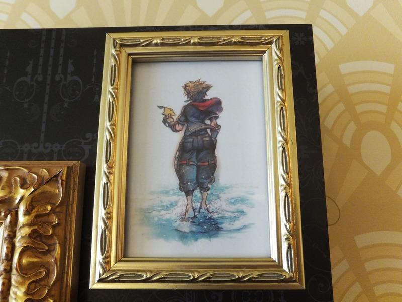 「キングダム ハーツIII」のための描き下ろしアートなどが飾られている