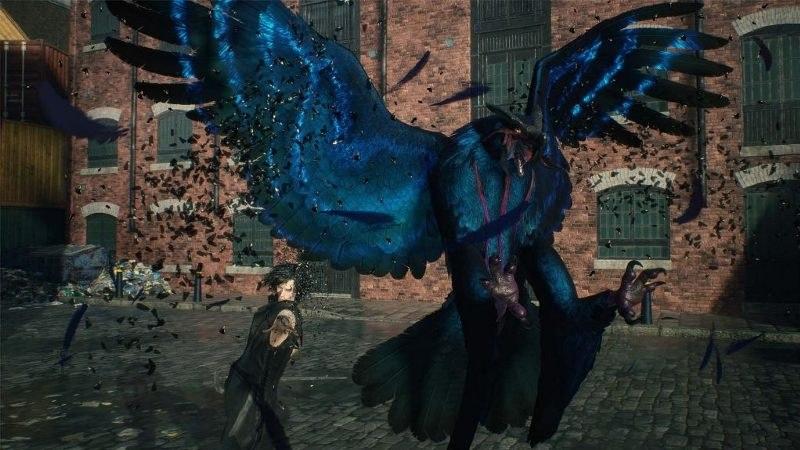 雷の力を使う大型猛禽「グリフォン」