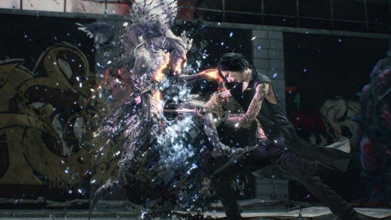 Vは魔獣が弱らせた敵に、直接トドメを刺す必要がある