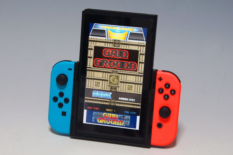 Nintendo Switchの携帯モードを縦画面でプレイ可能にするアタッチメント「Flip Grip」