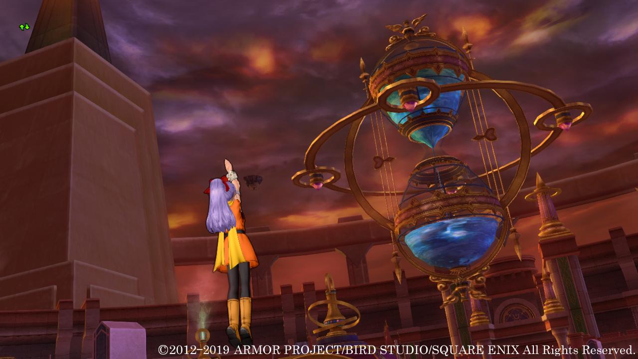 多くの災厄が降りかかるエテーネ王国。亡国の危機に際して、王都キィンベルのシンボルたる永久時環がその真の姿を現わす