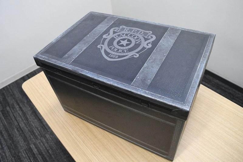 外箱はゲーム内に出てくるアイテムボックスを忠実に再現