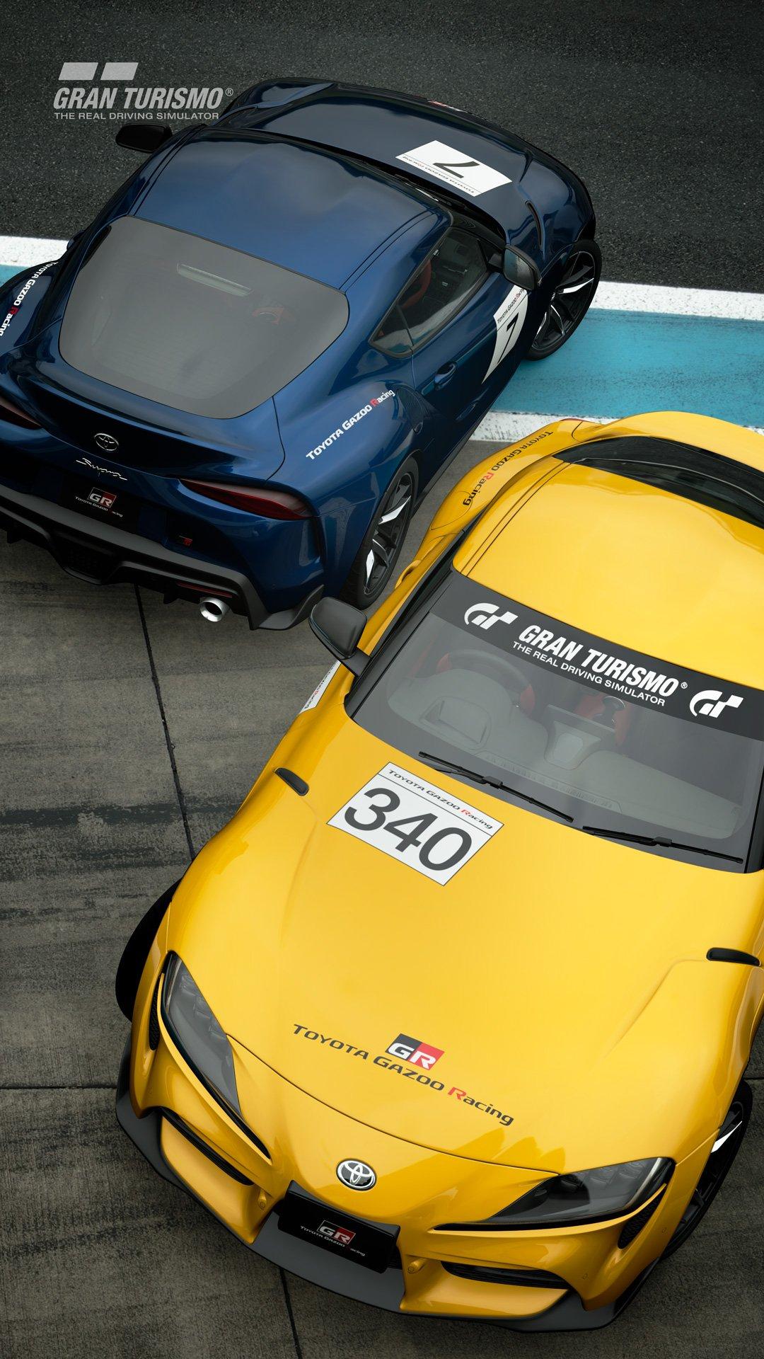 17年振りの新型として話題を集めているトヨタGRスープラ RZを使って大会が行なわれる