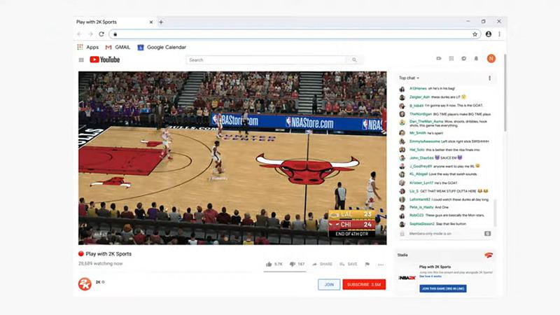 画面右下に、Crowd Playのボタンが設置されている