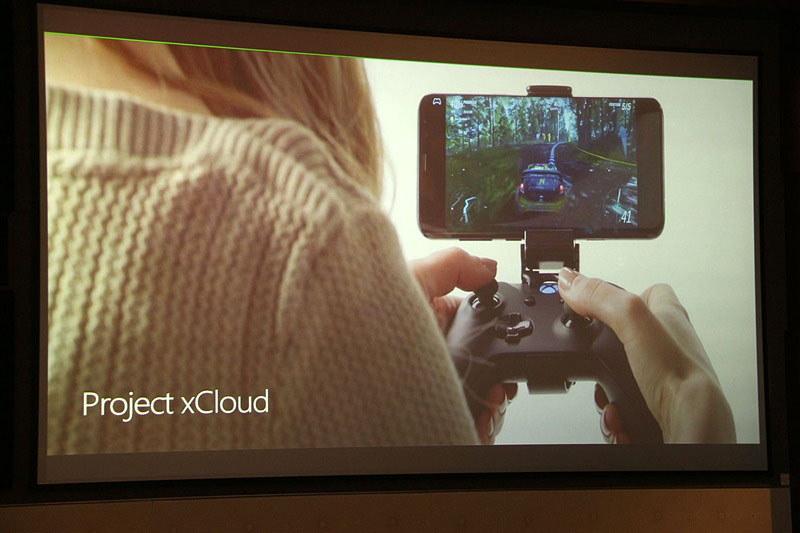 2019年にテスト開始予定のクラウドベースゲームプラットフォーム「Project xCloud」。フィル・スペンサー氏は「xCloudのXbox Game Passを組み合わせることを考えている」と昨年に語っています