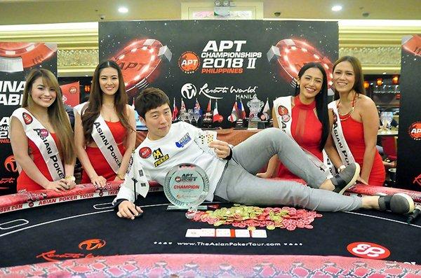 プロポーカー選手として活躍しているイム・ヨハン氏。2019年1月にベトナムに開かれたAPTのチャンピオンシップイベントで優勝を獲得した