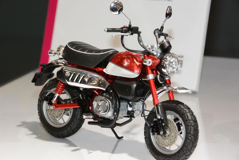 プラモデル「1/12 Honda モンキー125」
