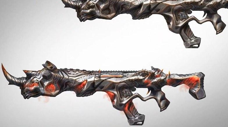 バトルパスからは新たなレジェンド・武器用スキンが入手できる