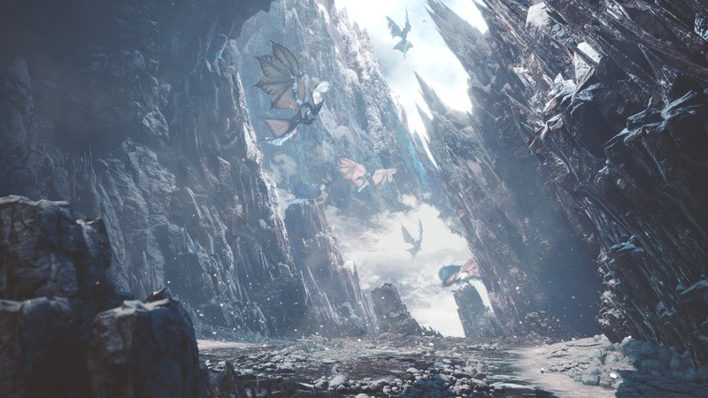 新たな舞台「渡りの凍て地」