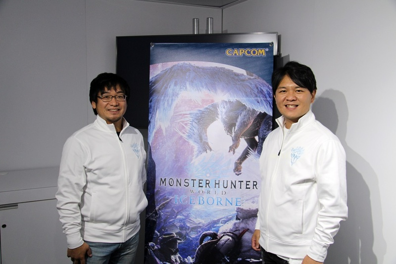 左から、「MHW:IB」エグゼクティブディレクター兼アートディレクターの藤岡要氏、「MHW:IB」プロデューサーの辻本良三氏