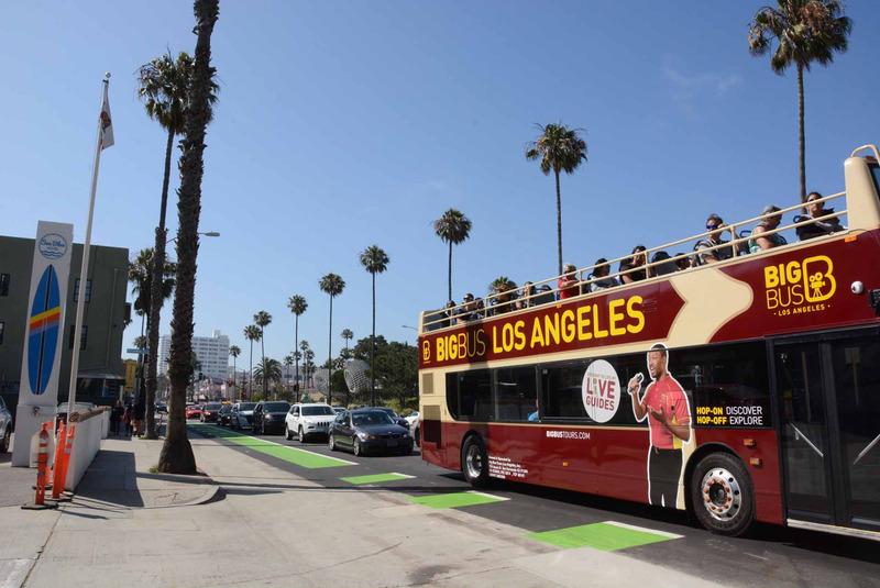 イベントが行なわれたサンタモニカは、ロサンゼルス西部にある都市で、人気の観光地だ。映画やゲームの舞台となることも多く、「GTA V」のプレーヤーならば見覚えがあるのではないだろうか