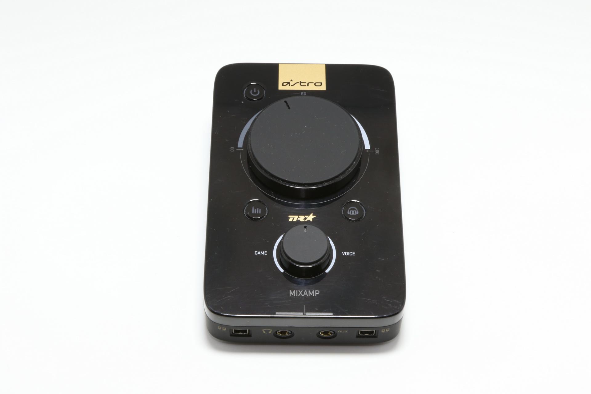 前モデル「A40」のMixAmp。新型とは随分と変わった