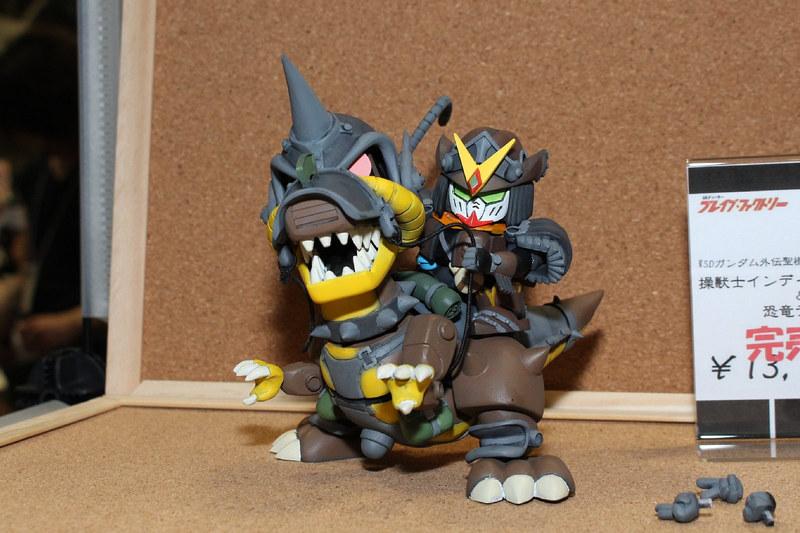 「操獣士インディガンダム&恐竜ティラノザク」(ブレイブ・ファクトリー)