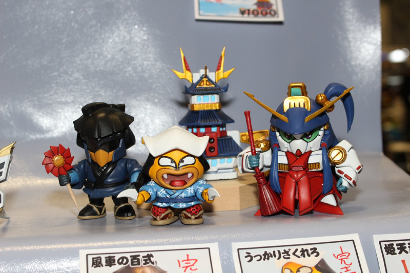 左から「風車の百式」、「うっかりザクレロ」、「烈帝城」、「姫天頑駄無」(SSSD)