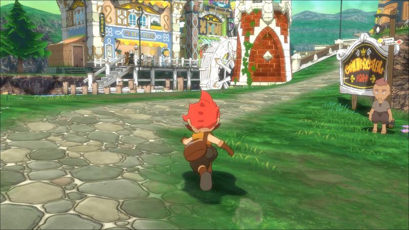 舞台となる小さな村。マモノが現れるまでは平和だったが、同時に村の外へ出ることを禁じられた村でもあった
