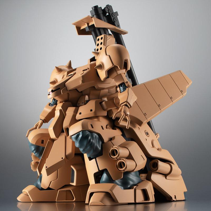 「ROBOT魂 <SIDE MS> YMS-16M ザメル ver. A.N.I.M.E.」 2019年1月発送予定で、価格は18,700円(税込)。現在プレミアムバンダイ魂ウェブ商店で受注中。立体化の少ない陸戦型重MSで、他のMSにはない重厚なシルエットが大きな魅力だ