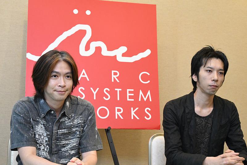 写真左が石渡大輔氏。右が片野旭氏