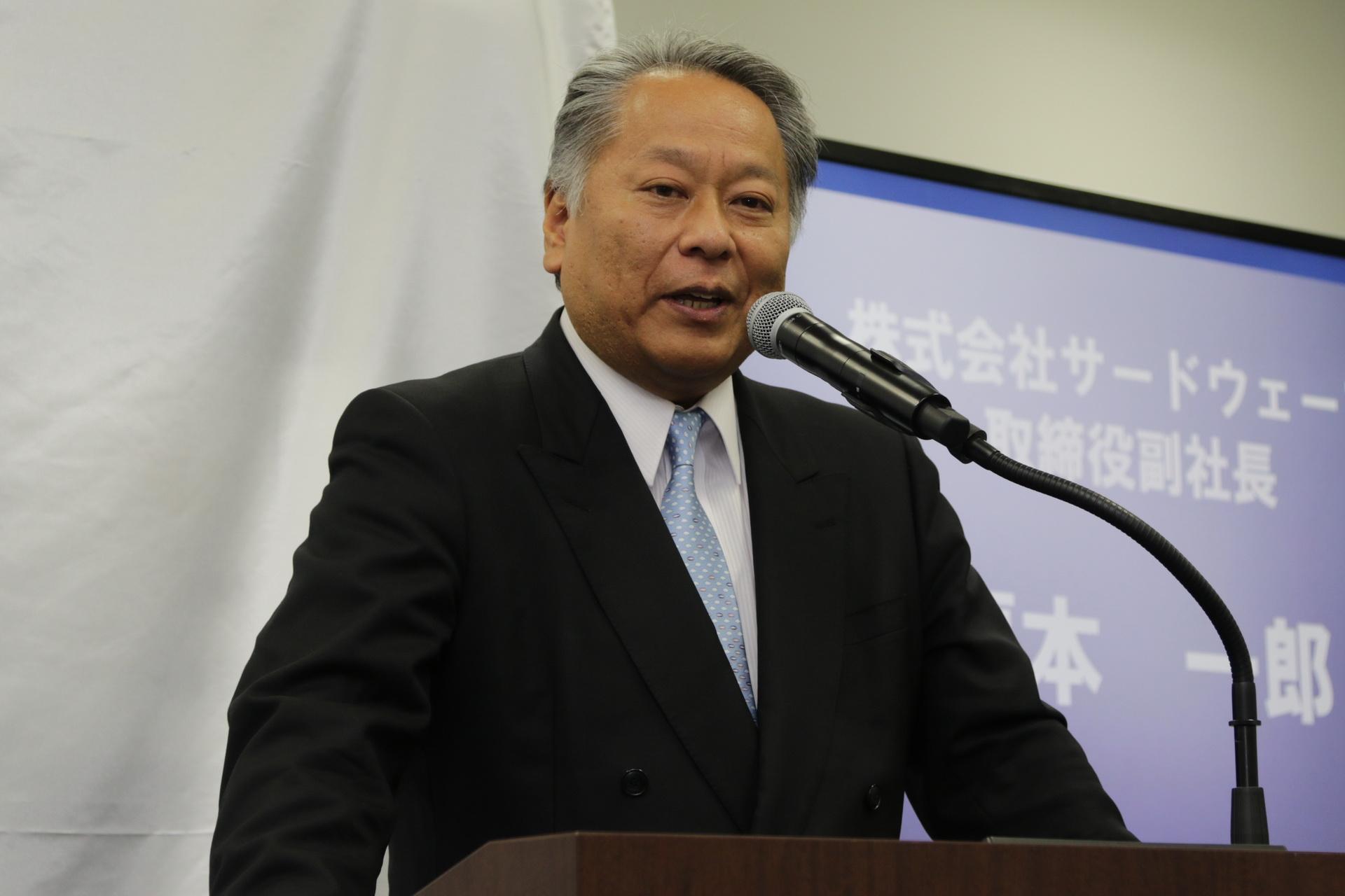 サードウェーブ取締役副社長 榎本一郎氏