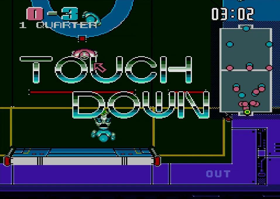 ボールをシュートせずに直接ゴールに持ち込めればタッチダウンが成立し、一気に3点が獲得できる