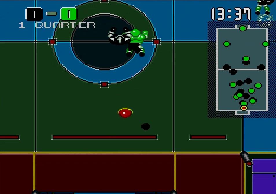 一定時間以上長押しした状態のシュートはボールが赤色に変化し、相手チームがこのボールに接触するとダメージを与えることができる